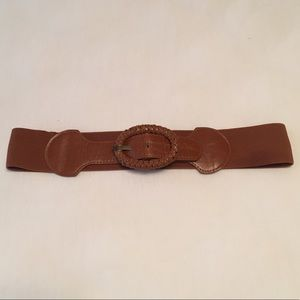 M/L Brown Cinch Belt